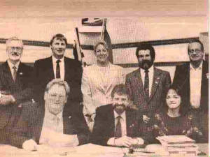 Spallumcheen Council 1989