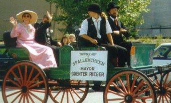 Mayor Guenter Rieger Centennial Parade 1992